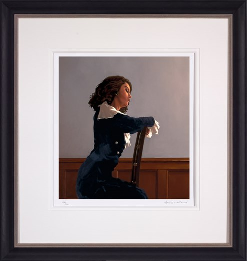 Afternoon Reverie by Jack Vettriano - Framed Limited Edition on Paper