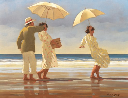 The Picnic Party (Large) by Jack Vettriano - Limited Edition on Paper